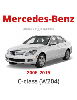 Mercedes-Benz C-class (W204) - Mileage stopper, odometer blocker
