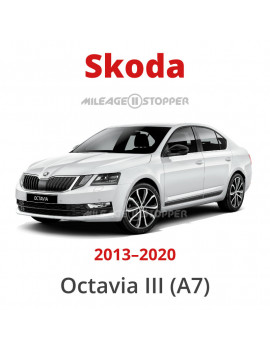 Skoda Octavia A7 mileage stopper, odometer blocker, filter