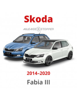 Skoda Fabia mileage filter, blocker