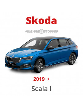 Skoda Scala I (2019 and up) mileage stopper, odometer blocker, filter
