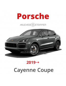 Porsche Cayenne Coupe - Mileage filter