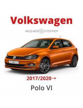Volkswagen Polo VI (2017→) mileage stopper, odometer  blocker, freezer, filter