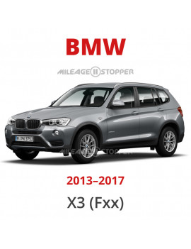 BMW X3 (F25) Mileage Blocker