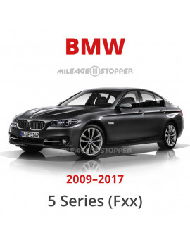 BMW 5 Series (F10, F11, F18, F07) Mileage Blocker