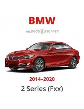 BMW 2 Series (F22, F23, F45, F46, F87) Mileage Blocker