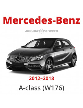 Mercedes-Benz (A-class) - Mileage stopper, odometer blocker