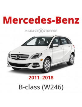 Mercedes-Benz (B-class) - Mileage stopper, odometer blocker