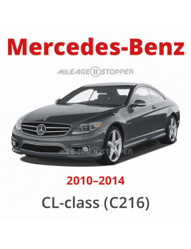 Mercedes-Benz (CL-class) - Mileage stopper, odometer blocker