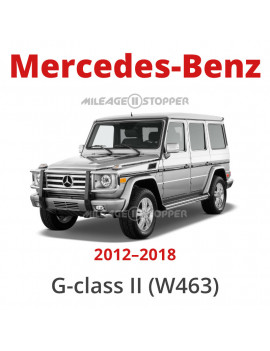 Mercedes-Benz G-Class (W463) - Mileage stopper, odometer blocker