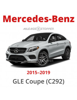 Mercedes-Benz GLE Coupe (C292) - Odometer blocker