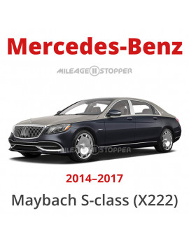 Mercedes-Benz Maybach S-class (X222)  - Odometer blocker