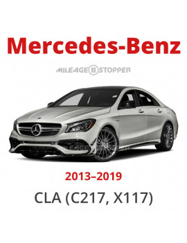 Mercedes-Benz CLA (C217, X117) - Mileage stopper, odometer blocker