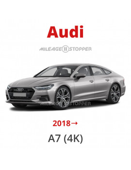 Audi A7 (4K) 2018→ Mileage stopper, odometer blocker, filter