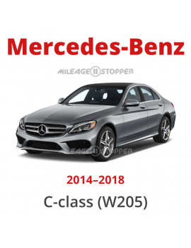 Mercedes-Benz C-class (W205) - Mileage stopper, odometer blocker