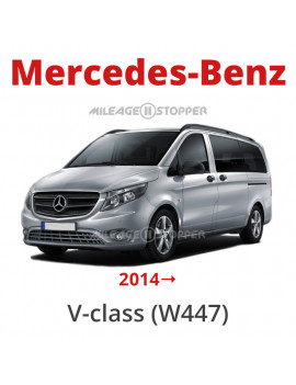 W447 Mercedes-Benz V class mileage stopper, odometer blocker
